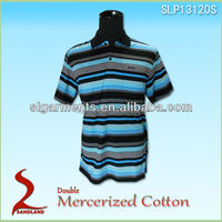 100% Double Mercerized Cotton Polo Shirt And T shirt