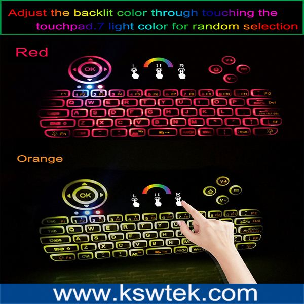 P9 Multimedia USB 104 Keys Wired Colorful Backlight Metal Gaming Keyboard for Computer PC Laptop