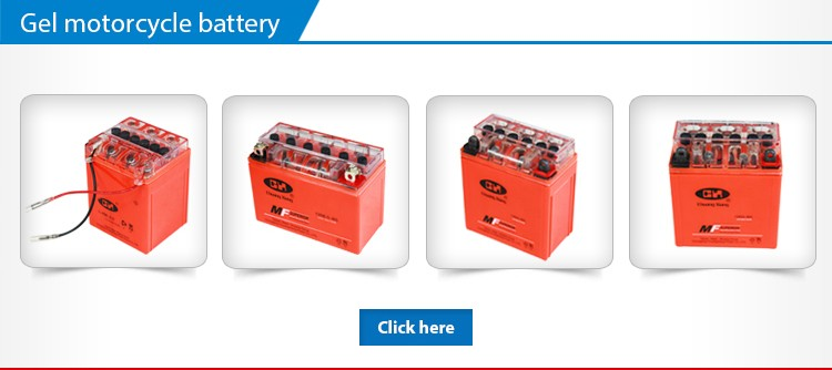 Gel Type Orange 12V 3Ah Maintenance Free Battery