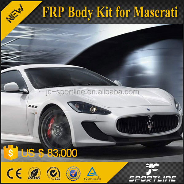 JC Sportline Fiberglass FRP Body kit for Maserati 2012