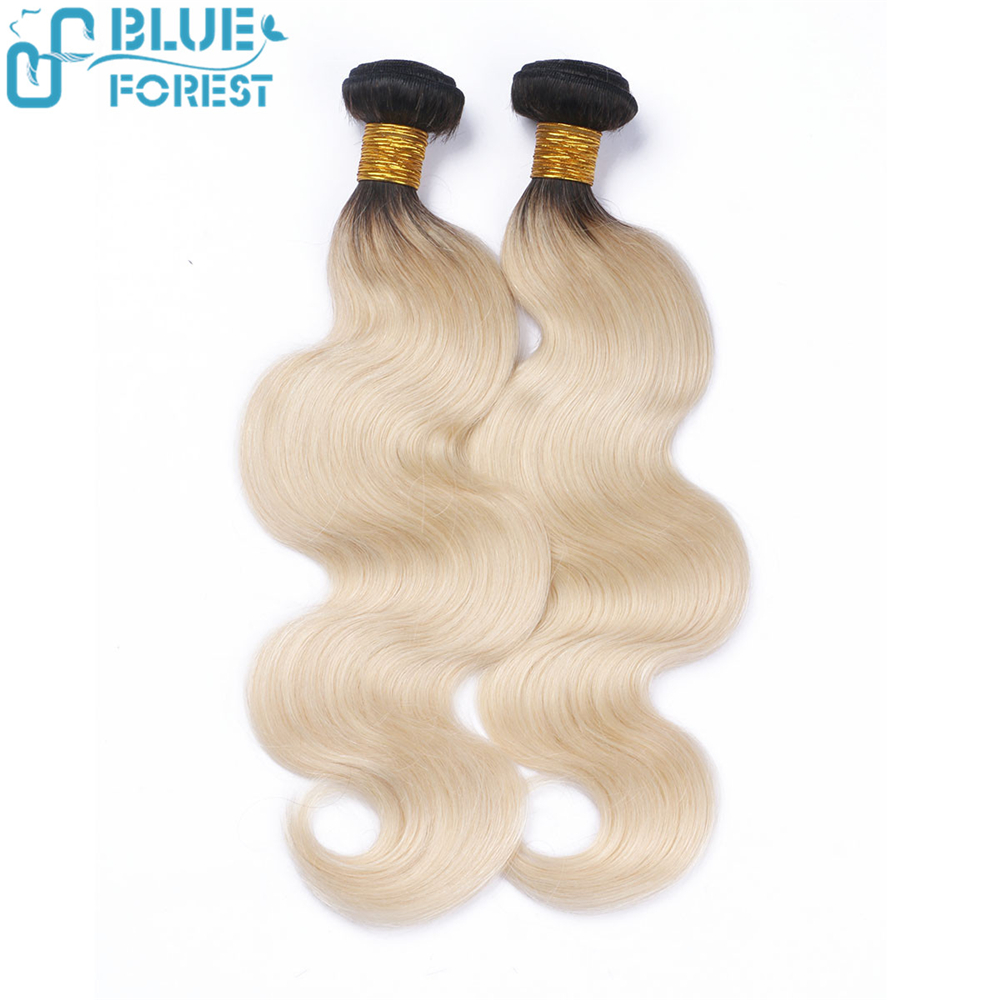 Hot sale factory price 1B 613 body wave hair extension