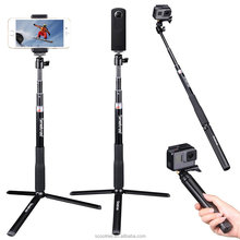 Smatree Smapole Q3 for <strong>Gopros</strong> Selfie Stick /<strong>Gopros</strong> and Cellphone Selfie Stick Monopod Pole
