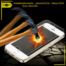 tempered glass screen guard for samsung galaxy young s3610 screen protector