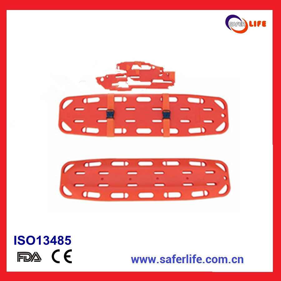 Hospital Medical Foldable Spine Board Stretcher Portable Medical Equipment Light Weight Strecher