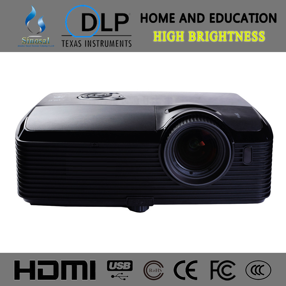 SINO-PL021 Brightness 8000 lumens XGA DLP lamp projector,video projector
