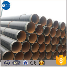 China manufacturer high density polyethylene coated carbon spiral steel pipe with competitive price