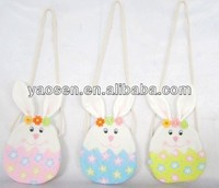 Easter bunny long shoulder strip gift bag