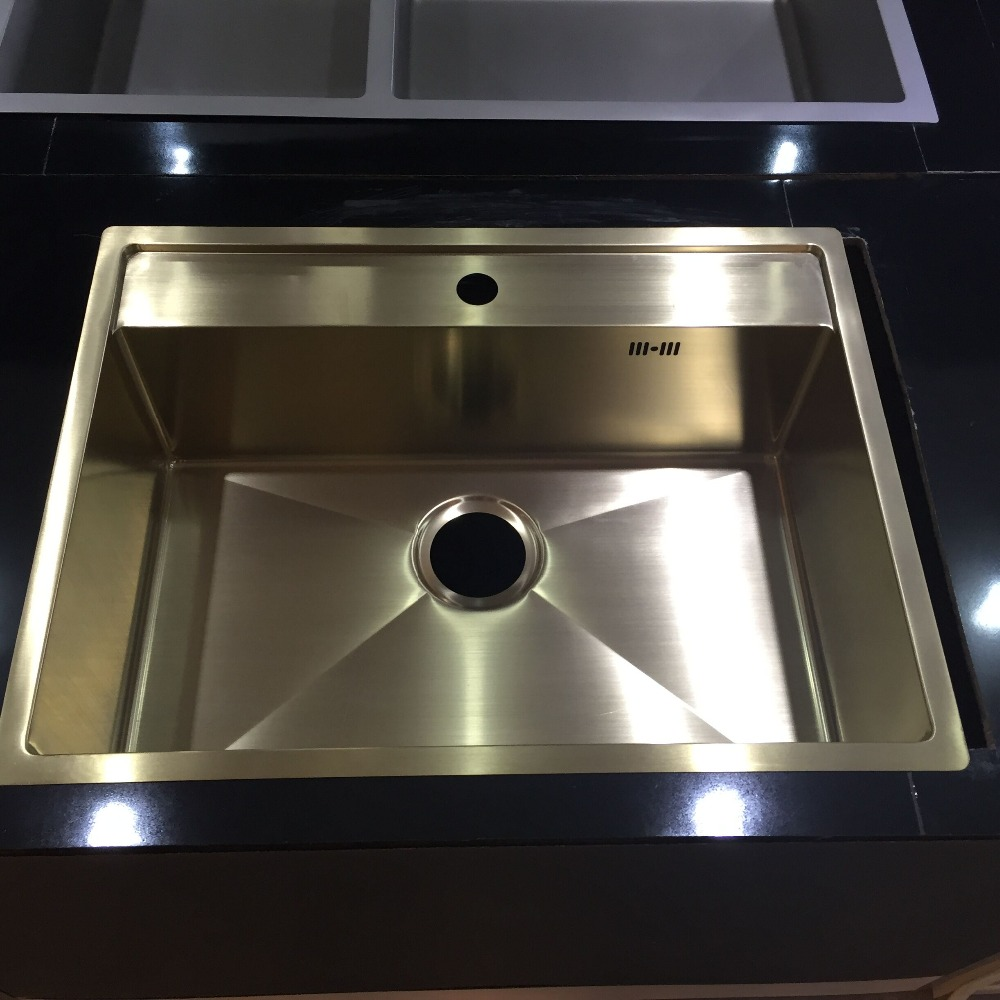 2016 new style counter top hot sale sinks kitchen