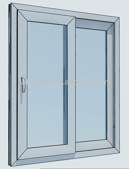 wei e farbe pvc schiebefenster mit fliegengitter mit. Black Bedroom Furniture Sets. Home Design Ideas