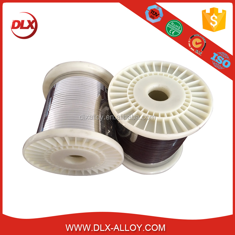 Bare Fecral Electric Heating Resistance Flat Wire For Industrial Furnace