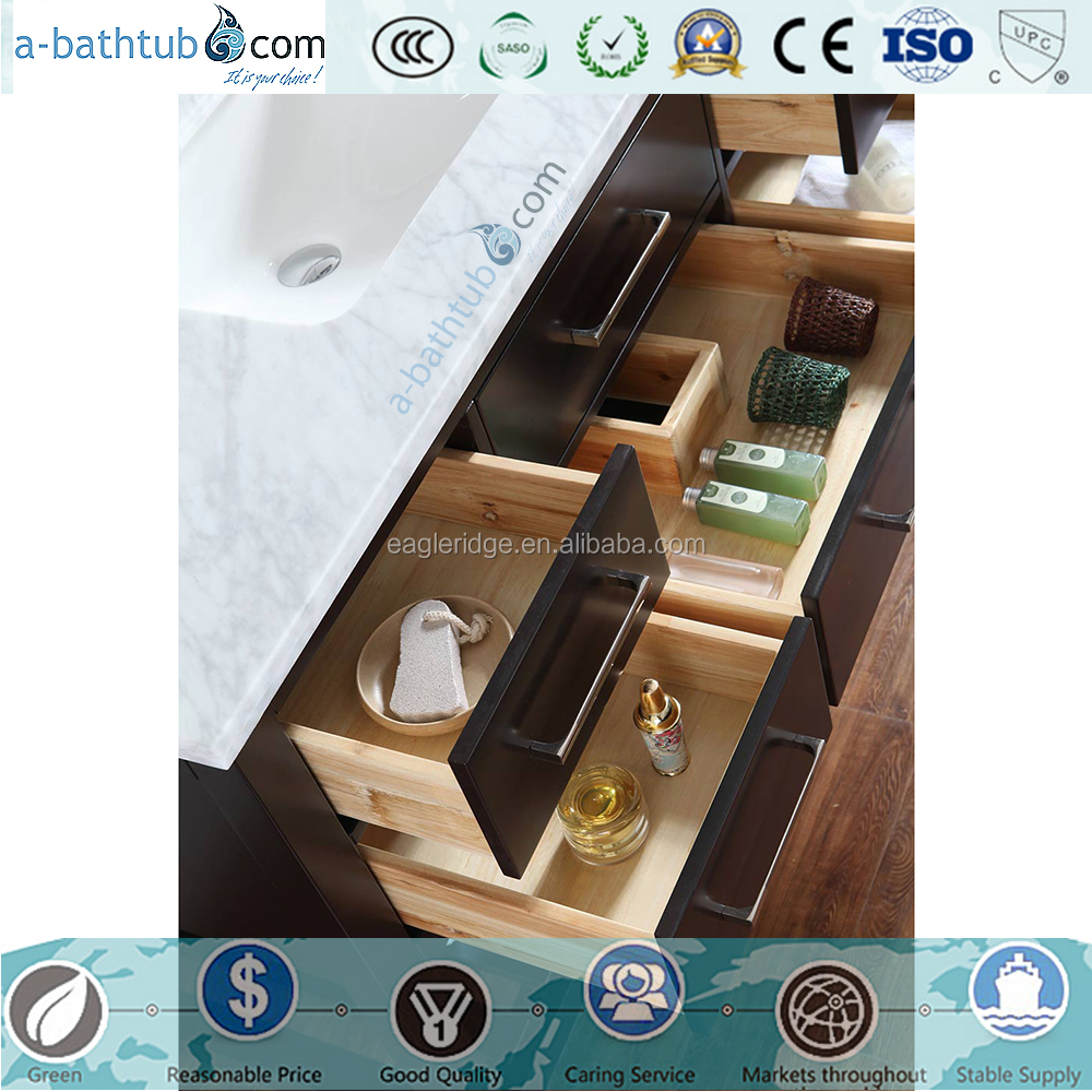 Freestanding bathroom vanity made in china