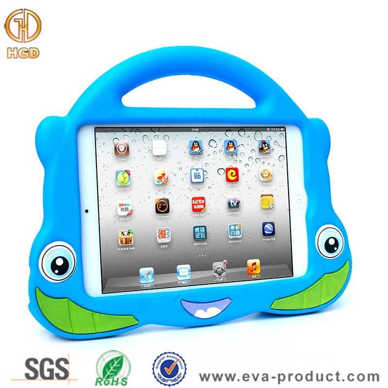 Handle Stand Design EVA Foam Material Case Cover for Apple iPad Mini