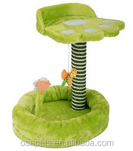 Good quality Pet Factory Small Cat Tree, Tiny Cat Platform, Plush Mouse Cat Toy