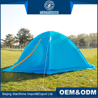 Waterproof 1-2 People Snow Outdoor Event Party Tents Double Layers Unique Movable Camping Tent