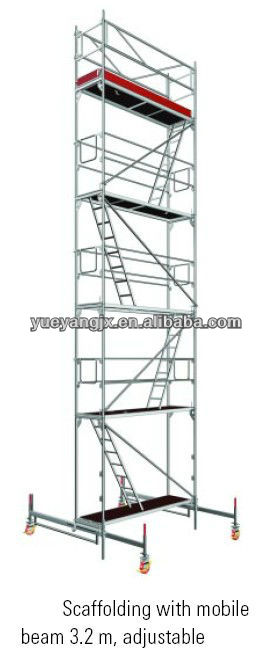 Layher Facade Scaffolding System For Easy Set Up