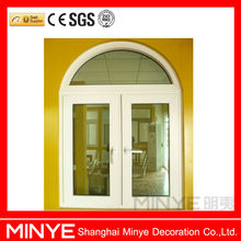 HOT SELL DOUBLE SWING OUT OPEN STYLE ALUMINUM FRENCH STYLE WINDOWS