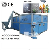 MIC-A8 Automatic machinery plastic bottle machine maker for making 0.1-2L bottle for 8000-10000BPH with CE