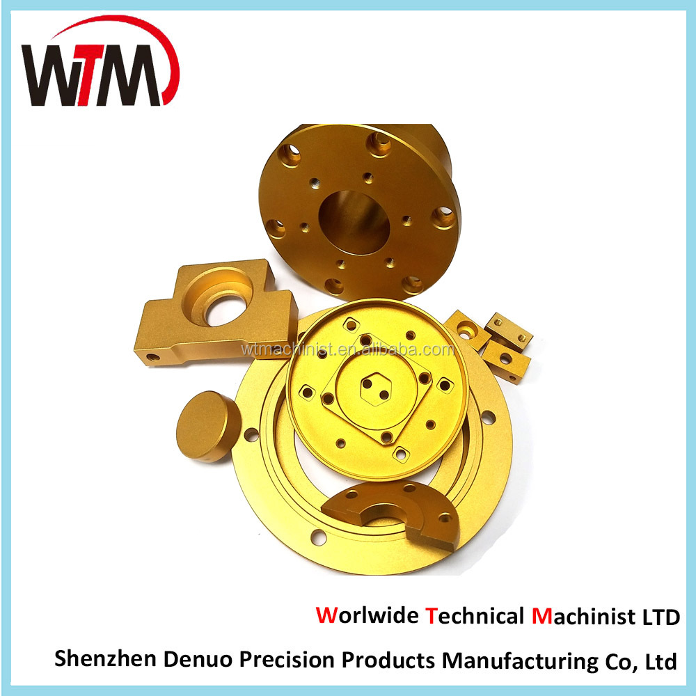 Customized finished metal parts machined turning parts
