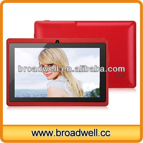 Allwinner A13 7 inch Android 4.0 custom tablet manufacture