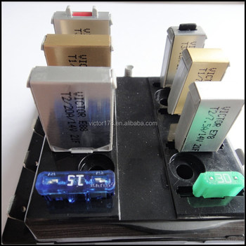 Auto Parts Circuit Breaker, replac for auto blade fuse