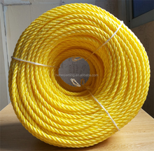 20mm PP twisted jute rope cord for fishing net