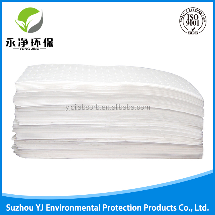 Eco Friendly Oil And Petroleum Needle Punch Absorbent Pads
