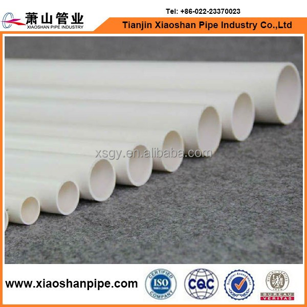 pvc plastic pipe scrap and large diameter pvc pipe for water supply