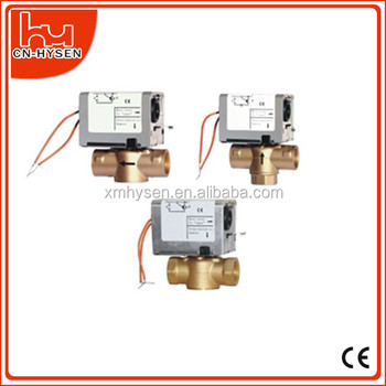 Two-way/Three-way 2-wire on/off Motorized Valve