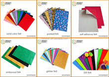 Polyester felt Material and Needle-Punched Nonwoven Felt
