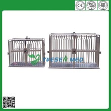 different size stainless steel pet cage house