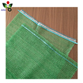 Recycled HDPE material raschel mesh drawstring bag packaging onion potato vegetables