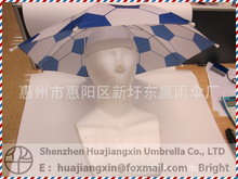 snowing snowman family with umbrella base printing umbrella with CE certificate
