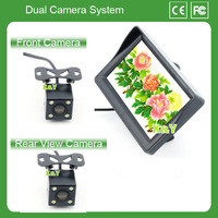 4.3 inch car monitor car front and rear camera