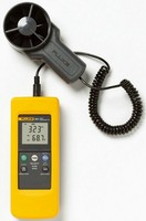 Fluke 925 F925 impeller anemometer Meter, Wind speed air flow Velocity/Temperature/Amount measure Anemometer