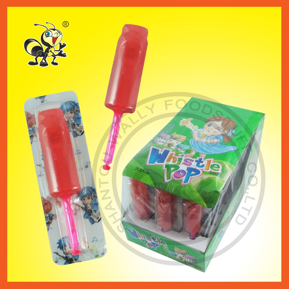 Whistle POP Music Lollipop Candy