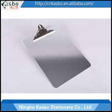 China Wholesale High Quality Aluminum Clipboard With Metal Clip