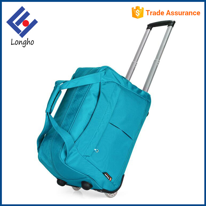 Hot selling wear resistance trolley bag luggage, lightweight travel time trolley bag