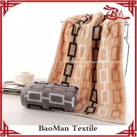 100g China manufacturer 100 cotton stripe dobby terry towel four colors for home office hotel