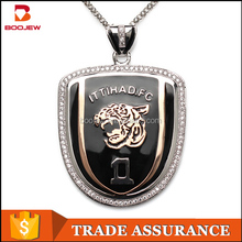 Fashion Silver 925 Necklace Men Design Custom Made Jewelry Sterling Silver Pendant