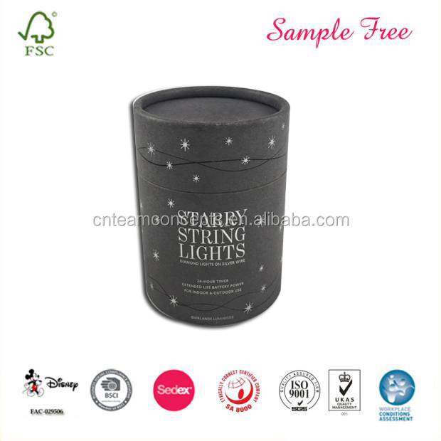 Customize Cute Cylinder Comestics Packaging Box