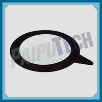 Plastic Pipe Fitting PE100/HDPE/PE Rubber Gasket for Flange