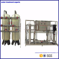 Industrial underground reverse osmosis water filter system