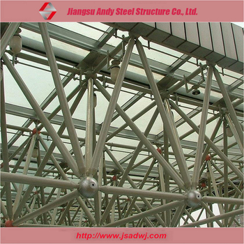 Pre engineered metal grid frame truss buy metal grid for Pre made trusses price