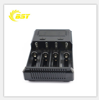 Automatic intelligent NEW I4 AA AAA AAAA C D smart battery charger