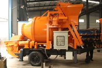 Heajee Brand top quality stationary concrete mixer pump with 170lt Capacity for sale