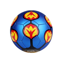 Cheap Cool Unique Metallic Blue Green Custom Soccer Ball