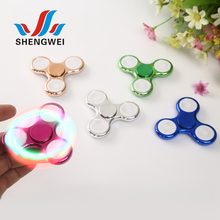 Customize new ones fashion safe centri spinner finger LED spinner ball bearing