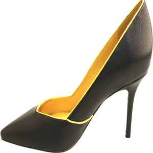 Black Simple High Heel Formal Office Dress Shoes Women's Wholesale Factory