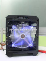 New design vertical type big tower computer case high glossy tower case for wholesales