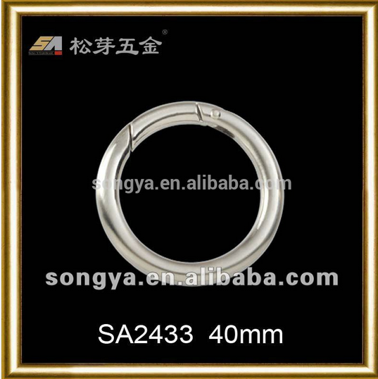 Song A buckle O-Ring Seamless Zinc Alloy Brass metal -SA2433